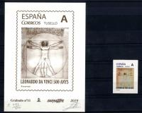Grabado Barnafil 2018 nº 10 150 años Pompeu Fabra con el sello